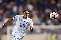 Honduras midfielder Edder Delgado (23). Honduras defeated Haiti 2-0 during a CONCACAF Gold Cup group B match at Red Bull Arena in Harrison, NJ, on July 8, 2013.