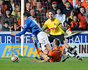 :: DUNDEE UTD'S SEAN DILLON PULLS DOWN RANGERS' NIKICA JELAVIC TO BE RED CARDED :: .19/04/2011   Copyright  Pic : James Stewart.sct_jsp025_dundee_utd_v_rangers .James Stewart Photography 19 Carronlea Drive, Falkirk. FK2 8DN      Vat Reg No. 607 6932 25.Telephone      : +44 (0)1324 570291 .Mobile              : +44 (0)7721 416997.E-mail  :  jim@jspa.co.uk.If you require further information then contact Jim Stewart on any of the numbers above.........