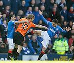 Stuart Armstrong shoves Ian Black