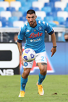 Matteo Politano of SSC Napoli<br /> during the Serie A football match between SSC Napoli and Atalanta BC at stadio San Paolo in Napoli (Italy), October 17th, 2020. <br /> Photo Cesare Purini / Insidefoto