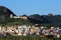 Castello Malaspina (12.Jh.) in Bosa,  Provinz Oristano, West - Sardinien, Italien