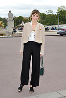 October 2 2017, PARIS FRANCE<br /> the HermËs Show at the Paris Fashion Week<br /> Spring Summer 2017/2018. Actress Julie Gayet arrives at the show.