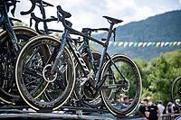 at the race start in Albertville<br /> <br /> Stage 10 from Albertville to Valence (191km)<br /> 108th Tour de France 2021 (2.UWT)<br /> <br /> ©kramon