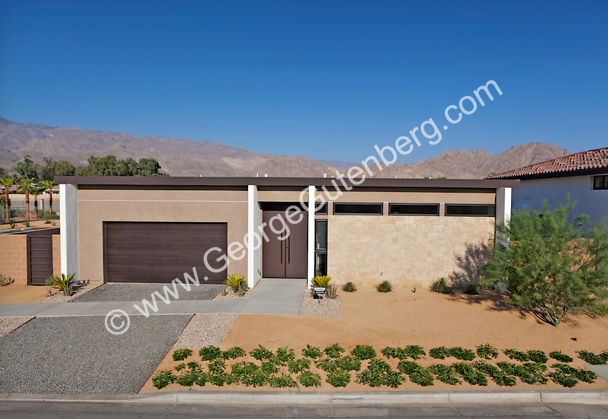 Stock photo of modern architecture home