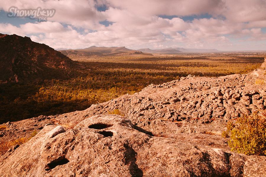 Image Ref: CA751<br /> Location: Mt Stapylton, The Grampians<br /> Date of Shot: 27.01.19