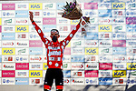Tadej Pogacar (SLO) UAE Team Emirates wins Stage 3 and takes over the mountains polka dot jersey of the Itzulia Basque Country 2021, running 167.7km from Amurrio to Laudi/Ermualde, Spain. 7th April 2021.  <br /> Picture: Luis Angel Gomez/Photogomezsport | Cyclefile<br /> <br /> All photos usage must carry mandatory copyright credit (© Cyclefile | Luis Angel Gomez/Photogomezsport)