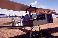SE5A Replica of World War 1 British Fighter Plane - at Abbotsford International Airshow, BC, British Columbia, Canada