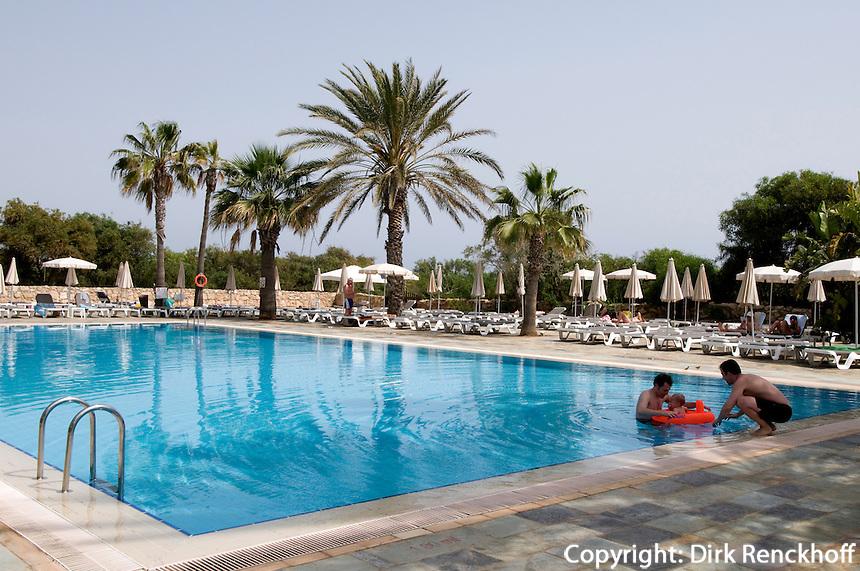 Zypern (Süd), Hotel Nissi Beach bei Agia Napa, Pool