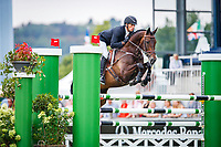 NZL-Tim Price rides Cekatinka during the DHL-Preis CICO3* Eventing Showjumping. Interim-8th. 2018 GER-Weltfest des Pferdesports CHIO Aachen. Friday 20 July. Copyright Photo: Libby Law Photography