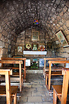July 2010, LEBANON: A small Catholic chapel for worshippers in Byblos, 36 kms north of Beirut. Picture by Graham Crouch