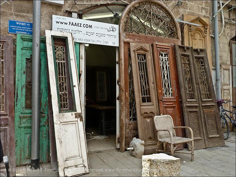 Door Restoration, Old Jaffa