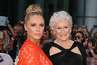 ANNIE STARKE WITH HER MOTHER GLENN CLOSE - RED CARPET OF THE FILM 'THE WIFE' - 42ND TORONTO INTERNATIONAL FILM FESTIVAL 2017