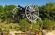 Old cannon near the Sandown depot in Sandown, New Hampshire.