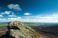Summit Tor, Clachnaben, Aberdeenshire