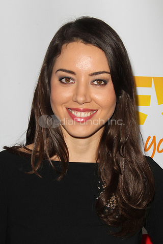 LOS ANGELES, CA - DECEMBER 02: Aubrey Plaza at 'Trevor Live' honoring Katy Perry and Audi of America for The Trevor Project held at The Hollywood Palladium on December 2, 2012 in Los Angeles, California. Credit: mpi21/MediaPunch Inc.