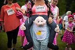 © Joel Goodman - 07973 332324 . 09/07/2017 . Manchester , UK . Participants at the park ahead of the run . Race for Life charity run in aid of Cancer Research UK , in Heaton Park . Photo credit : Joel Goodman