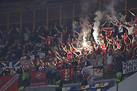 supporters Spartak Moskva during the Europa league group C 2021/2022 football match between SSC Napoli and FC Spartak Moskva at Diego Armando Maradona stadium in Napoli (Italy), September 30th, 2021. <br /> Photo Cesare Purini / Insidefoto