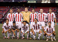 CD Chivas USA starting XI. The NY Red Bulls defeated CD Chivas USA 5-4 at Giants Stadium, East Rutherford, NJ, on May 20, 2006.