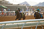 DEL MAR,CA-SEPTEMBER 04: Bolt d'Oro,ridden by Corey Nakatani, wins the Del Mar Futurity at Del Mar Race Track on September 04,2017 in Del Mar,California (Photo by Kaz Ishida/Eclipse Sportswire/Getty Images)