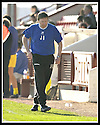 12/04/2003                   Copright Pic : James Stewart.File Name : stewart-arbroath v qots 11.ARBROATH'S MANAGER JOHN BROWNLIE SEES HIS TEAM'S 1ST DIVISION STATUS SLIPPING AWAY....James Stewart Photo Agency, 19 Carronlea Drive, Falkirk. FK2 8DN      Vat Reg No. 607 6932 25.Office     : +44 (0)1324 570906     .Mobile  : +44 (0)7721 416997.Fax         :  +44 (0)1324 570906.E-mail  :  jim@jspa.co.uk.If you require further information then contact Jim Stewart on any of the numbers above.........