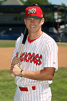 June 30th, 2007:  Bryan Cartie of the Batavia Muckdogs, Short-Season Class-A affiliate of the St. Louis Cardinals at Dwyer Stadium in Batavia, NY.  Photo by:  Mike Janes/Four Seam Images