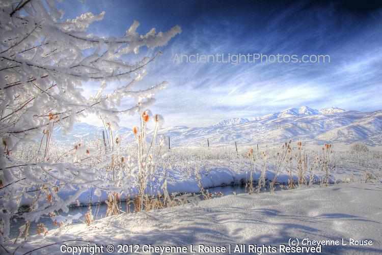 Utah Winter - Heber Valley - Christmas Eve - Wasatch Mountians
