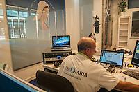 radio Maria, radio cattolica, radio comunitaria, al meeting di Comunione e Liberazione