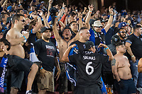 STANFORD, CA - JUNE 29: Fans during a Major League Soccer (MLS) match between the San Jose Earthquakes and the LA Galaxy on June 29, 2019 at Stanford Stadium in Stanford, California.