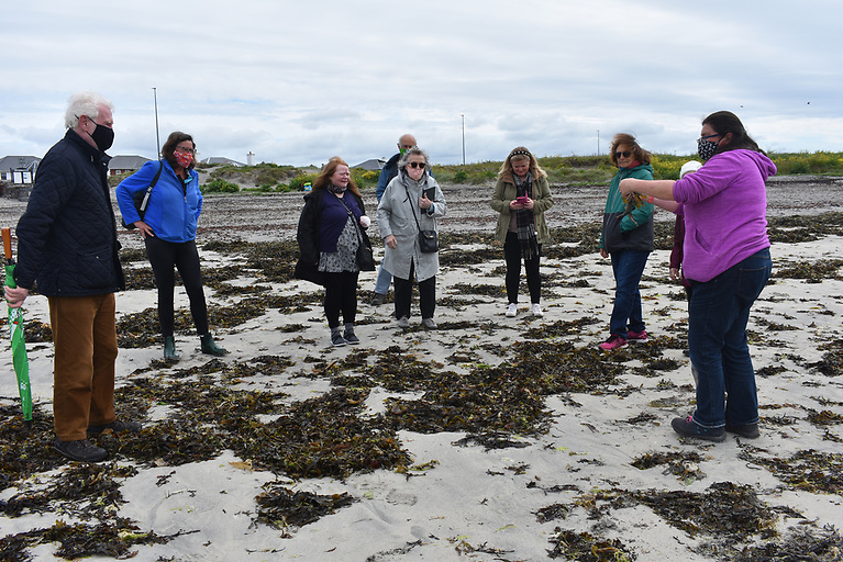 A Young Hearts session on Grattan Beach, Galway Bay