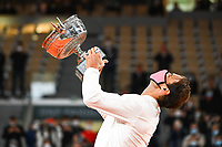 Rafal NADAL of Spain during the day fifteen men's final Roland Garros on October 11, 2020 in Paris, France. (Photo by Anthony Dibon/Icon Sport) - Roland Garros - Paris (France)