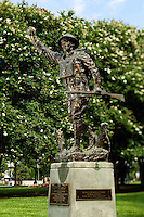 Photography of the Mecklenburg County World War 1 Monument in  downtown Charlotte.<br />  <br /> Charlotte Photographer -PatrickSchneiderPhoto.com