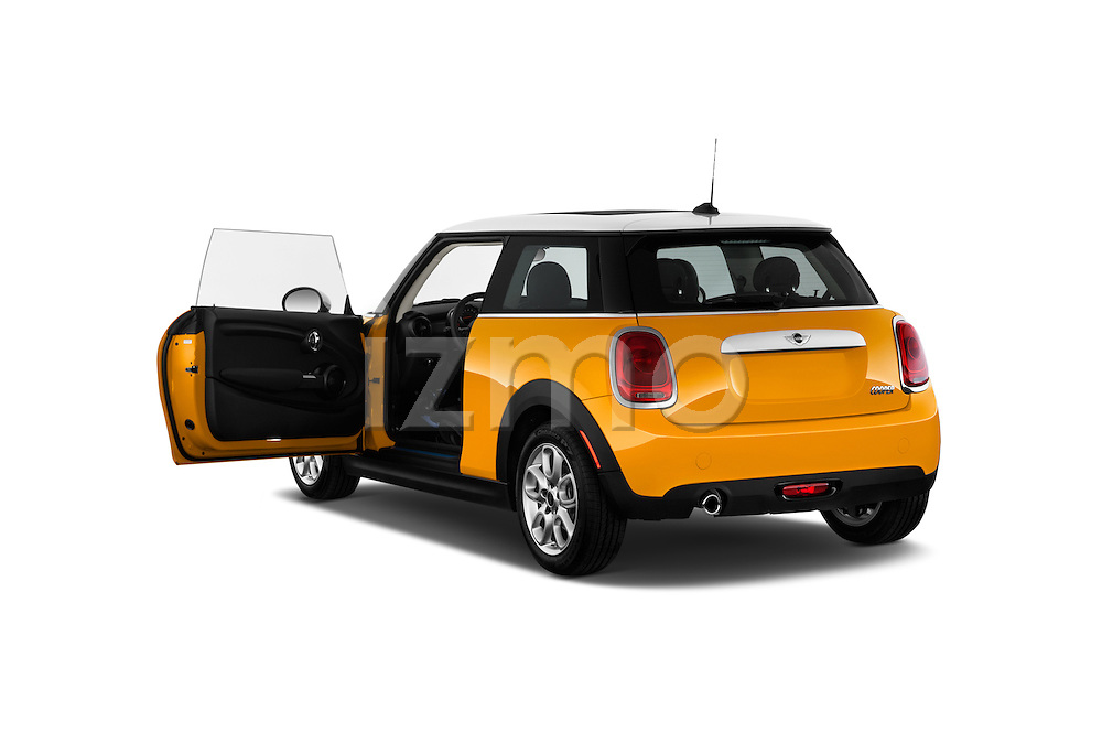 Rear three quarter door view of a 2014 MINI Cooper Hardtop 3 Door Hatchback