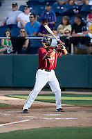 July 4, 2009: Yakima Bears' Roberto Rodriguez at-bat during a Northwest League game against the Everett AquaSox at Everett Memorial Stadium in Everett, Washington.