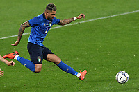 Emerson Palmieri of Italy in action during the friendly football match between Italy and Estonia at Artemio Franchi Stadium in Firenze (Italy), November, 11th 2020. Photo Andrea Staccioli/ Insidefoto