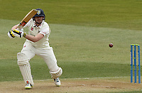 Alex Lees in batting action for Durham during Essex CCC vs Durham CCC, LV Insurance County Championship Group 1 Cricket at The Cloudfm County Ground on 15th April 2021