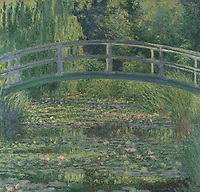 Full title: The Water-Lily Pond<br /> Artist: Claude-Oscar Monet<br /> Date made: 1899<br /> Source: http://www.nationalgalleryimages.co.uk/<br /> Contact: picture.library@nationalgallery.co.uk<br /> <br /> Copyright © The National Gallery, London