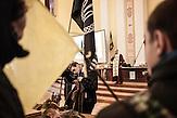 Pro EU Demonstrationen in Kiew, besetztes Rathaus 03.12.2013