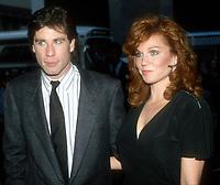 John Travolta Marilu Henner 1985<br /> Photo by Adam Scull/PHOTOlink