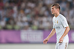 Toni Kroos of Real Madrid CF looks on during the FC Internazionale Milano vs Real Madrid  as part of the International Champions Cup 2015 at the Tianhe Sports Centre on 27 July 2015 in Guangzhou, China. Photo by Hendrik Frank / Power Sport Images