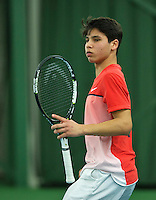 Rotterdam, The Netherlands, March 11, 2016,  TV Victoria, NOJK 12/16 years, Sidané Pontjodikromo (NED)<br /> Photo: Tennisimages/Henk Koster
