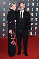 Alison Balsom and Sam Mendes<br /> arriving for the BAFTA Film Awards 2020 at the Royal Albert Hall, London.<br /> <br /> ©Ash Knotek  D3554 02/02/2020