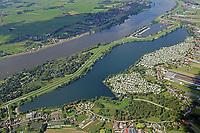 Hohendeicher See: EUROPA, DEUTSCHLAND, HAMBURG, NIEDERSACHSEN,  02.09.2017: Elbe Landschaft beim Hohendeicher See