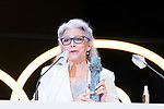 Kiti Manver during Malaga Film Festival Gala at Teatro Cervantes.August 24 2020. (Alterphotos/Francis González)