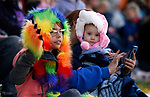 Serenity and Laney Nord, 9 and 1, watch the Nevada Day parade in Carson City, Nev., on Saturday, Oct. 26, 2019.  <br /> Photo by Cathleen Allison/Nevada Momentum