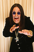 Ozzy Osbourne, Studio Session, In New York City, On 9/9/2001<br /> Photo Credit: Eddie Malluk/Atlas Icons.com