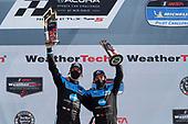#10: Konica Minolta Acura ARX-05 Acura DPi, DPi: Ricky Taylor, Filipe Albuquerque, podium