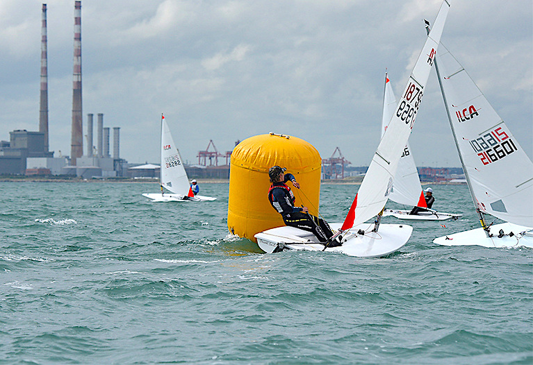 The new Royal St George Yacht Club Laser Regatta Series on Dublin Bay comprises five short races of 20-30 minutes in duration with separate prize categories across the different rigs, genders and ages