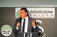 Pictured: Manager Brendan Rodgers. Thursday 10 May 2012<br /> Re: Swansea City FC awards dinner at the Liberty Stadium.