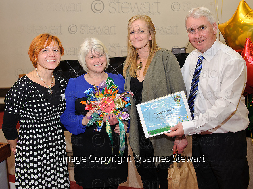 Litter Strategy Awards 2012. Trusty Sidekicks, Criminal Justice Team.