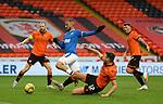 13.12.2020 Dundee Utd v Rangers: Kemar Roofe steps over Ryan Edwards
